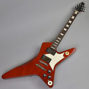 Used Edwards E-cs Classic Brown Electric Guitar Free Shipping
