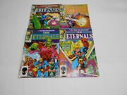 The Eternals 3-19 -14 Limited Series 1-12. Ksa 1 Marvel Fn To Vf-