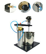 Brand New 5 Gallon Pneumatic Mixer With Stand For Mixing Paint With Barrel141069