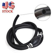 3/8 Marine Outboard Boat Motor Fuel/gas Hose Line Assembly With Primer Bulb Usa