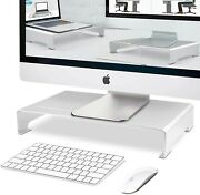 Monitor Riser/computer Stand For Home Office W/sturdy Platform