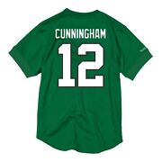 Randal Cunningham 12 Mitchell And Ness Name And Number Mesh Crew Neck Jersey