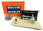 Lionel 6-2308 O And O27 Gauge Animated Newsstand Boxed Model Railway Accessories