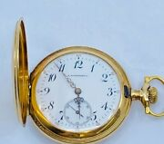 Vintage 14kt Yellow Gold H. Silverthorn Co. Pocket Watch