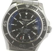 Breitling Super Ocean 42 A17365 Date Black Dial Automatic Menand039s Watch_605423