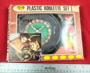 New In Box Vintage 1970's Roulette Wheel Game