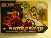 Battroborg By Tomy Gold Romote Controlled Robot T60800 2.4 Ghz