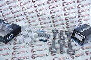 Cp Piston Kit W/ Upgraded Pins And Wmc Rods Combo 84mm 10.2cr For Bmw N54 B30