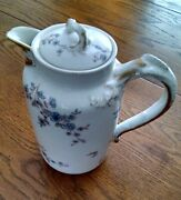 Haviland And Co. Limoges France Chocolate Pot Double Mark