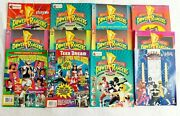 Vtg Mmpr Power Ranger Activity Book Lot 12- Coloring Stickers Fan Magazines 1994