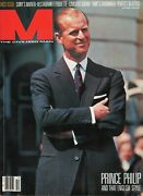 M The Civilized Man Vtg Phillip Royalty Pristine Oct.1983 First Issue