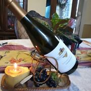 Yankee Candle Cheese Grapes Tea Light Wine Bottle Holder Retired. Wine Not Inc.