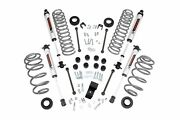 Rough Country 3.25in For Jeep Suspension Lift Kit W/v2 Shocks 4cyl