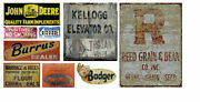 Ho Scale T2 Decals Feed And Seed Sign Decals T2 Decals Hofeed001