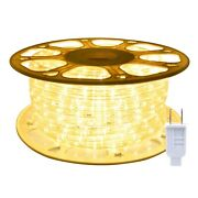 Ollrieu 98.4ft/30m Led Rope Lights,waterproof, Indoor/outdoor Use,720 Units Warm