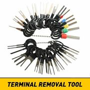 Car Terminal Removal Tool Kit Wire Connector Pin Release Extractor Puller Bulk