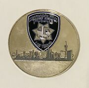 Sought After-unique-las Vegas Police-vegas Strong-police Challenge Coin