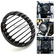 Black Headlight Grill Cover For Harley Davidson Sportster Xl883 Xl1200 04-2014