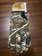 New Men Manzella Waterfowl Hunting Decoys Glove Realtree Max 4 Camo Size Large