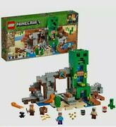 Lego Minecraft The Creeper Mine Best Toy For Boys Girls Building Blocks Gift New