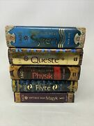 Lot Of 5 Septimus Heap Series Books 1-5 Set Of Chapter By Angie Sage Hb/pb