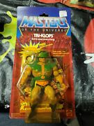 Masters Of The Universe Tri-klops 1982 1983 Moc With Warriors Ring.