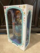 """2015 Limited Edition Frozen Fever Princess Anna 17"""" Doll Le 5000 Box Has Marks"""