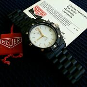 Heuer 2000 Pvd Very Rare Vintage And03970/and03980 Nos Bandp 15.4