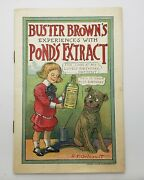1904 Buster Brown Extract Premium Booklet Comic Book R.f.outcault