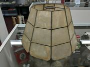 Vintage Mission Style Arts And Crafts Mica Shade Lamp Shade