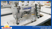 Thor Gt-500-01cb Industrial Coverstitch Sewing Machine New With Table And Motor