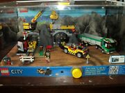 Collectible Lego City Series The Mine 4204 Retail Display Showcase Assembled