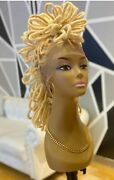 Full Lace Blonde 100 Human Hair Dreadloc Wig Or Get In Any Color You Want