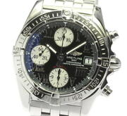 Breitling Chrono Cockpit A13358 Date Black Dial Automatic Menand039s Watch_612669