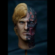1/6 Two-face Harvey Dent Male Head Model For 12and039and039 Action Figure Doll Hot Toys