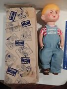 Dennis The Menace 1957 Nuskin 17 Dennis The Menace Doll Complete W/ Box
