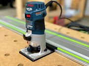 Bosch Router Adapter For Festool Track Saw Guide Rails - Colt 1 Hp Pr20evs