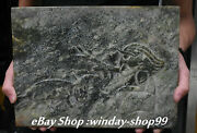 12and039and039 Old Chinese Hongshan Culture Old Jade Carved People Hunting Animal Brand