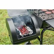 Royal Gourmet Cc1830s Charcoal Grill With Offset Smoker 811 Square Inches Black
