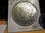 1927-p Peace Dollar Mint State +++++