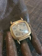 Rare Vintage Elgin Bubble Watch For Repair Missing Hands Doesnt Wind