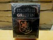 Stainless Griffin Metal Playing Cards By Home Run Games