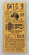 Mlb 1973 06/20 Chicago Cubs At Pittsburgh Pirates Ticket Stub-stargell 2hrs