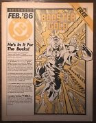 Dc Releases Comic Book 1 1986 First Appearance Of Booster Gold