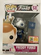 Sdcc 2018 Freddy Funko Pop Space Robot Limited Edition 2000 Le New