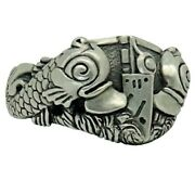 Navy Submarine Dolphins Sterling Silver 925 Mens Ring Warfare Handmade Us Sizes