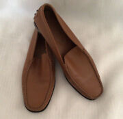 Toddandrsquos Womens Loafers Used In Photo Shoot Once Great Tan Color See Photos