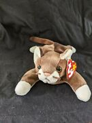 ⭐⭐⭐ty Beanie Baby Pounce The Cat 1997 Retired Pvc Pellets. Tage Errors⭐⭐⭐