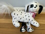 Puppy Surprise Gigi And Puppies Plush Dalmatian Dogs Toy 2 Pups Spots