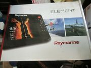 Raymarine Element 9 Hv W/hv 300th Thru Hull Transducer A80604 And Fairing Block
